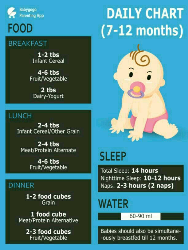 Plz Help Me Give Diet Chart To Increase Weight Of My Baby She Is Not