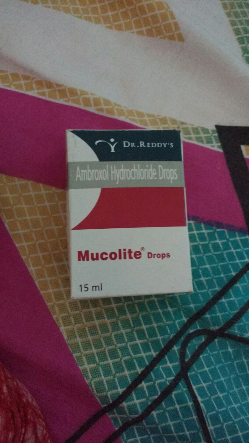 Hi My Baby Doc Suggested Mucolite S And Atarax Syrup For