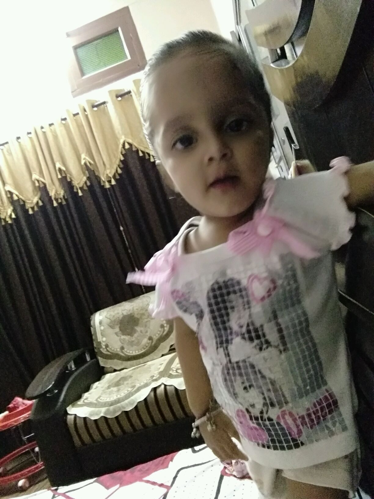 Hello mam my baby is 20 months old she is very underweight