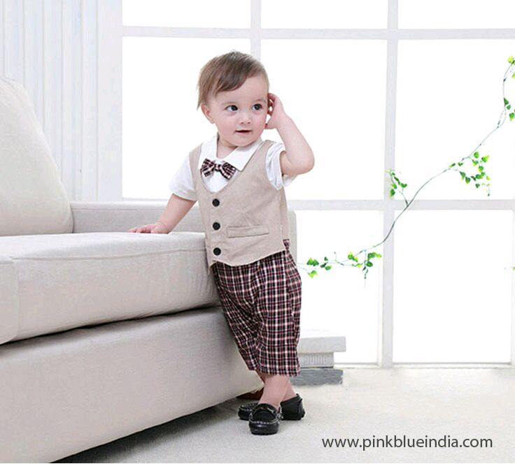 e554cafe0778 Go with http   www.pinkblueindia.com. For baby boys formals and party wear  dresses it has a awesome collection.