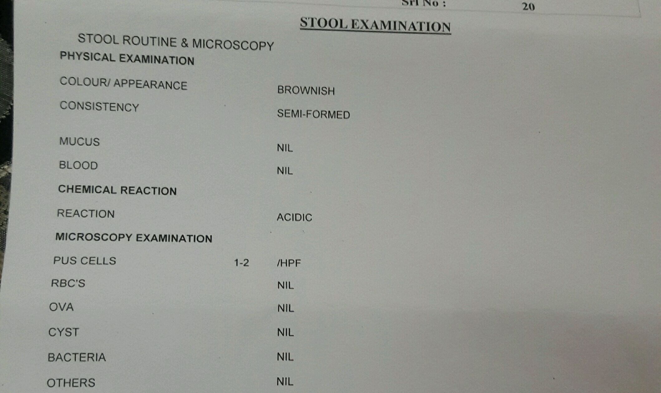 Here Is A Stool Test Report Of My Baby Stool Ph Is 6 0