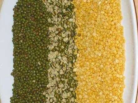 Wat s the tamil name of moong dal?