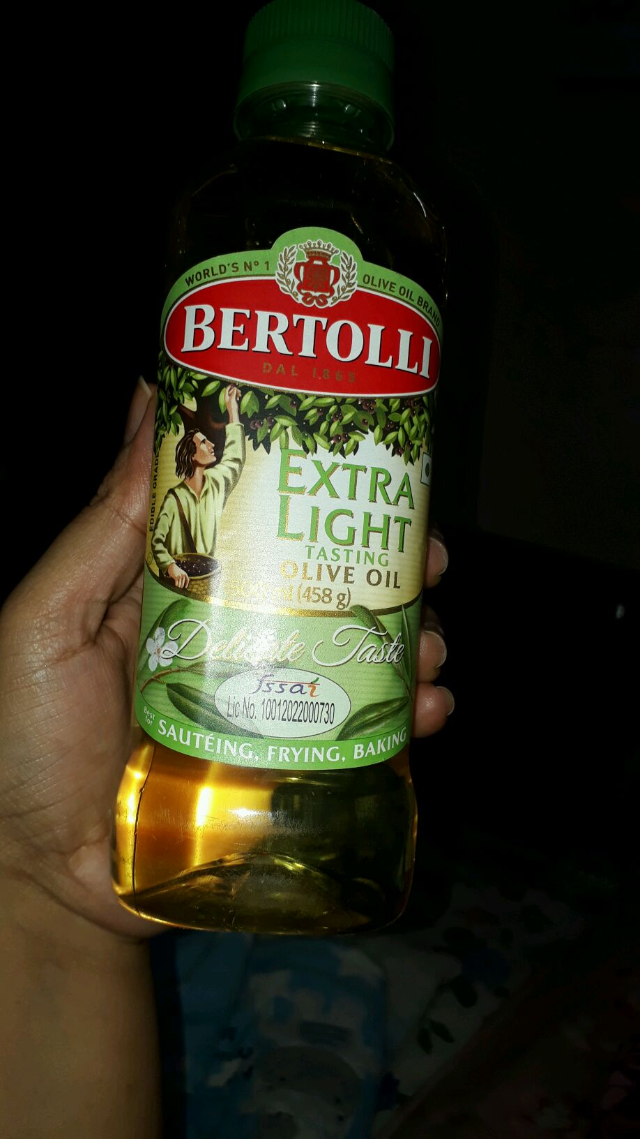 i have heared about bertolli olive oil is gud for massage nd i